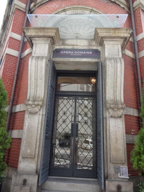 オペラドメーヌ 入口