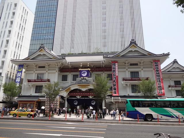 歌舞伎座 正面