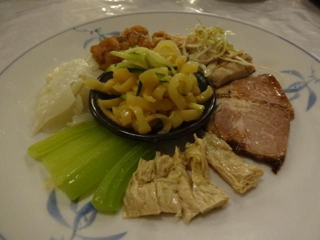 東華菜館 前菜