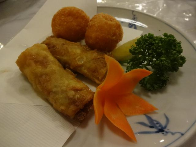 東華菜館 揚げ物