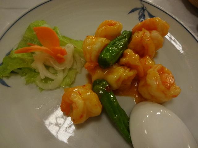 東華菜館 エビチリ