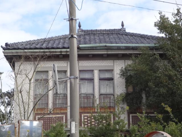 旧橋本歯科医院 屋根