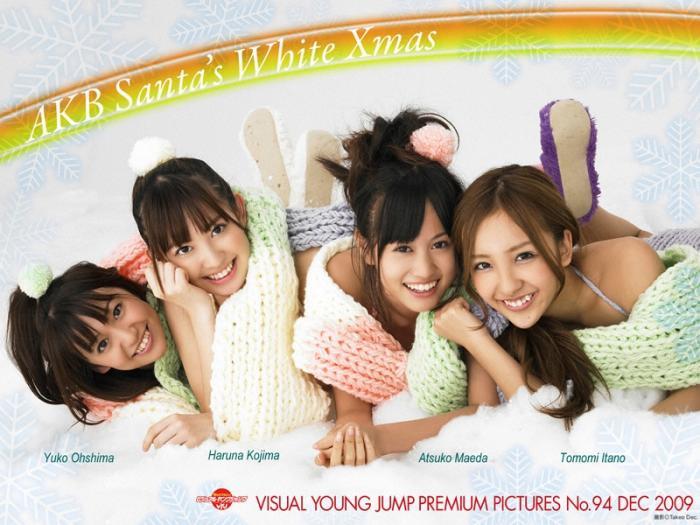 AKB48 Santa's White X'mas TOP4 ガールズ