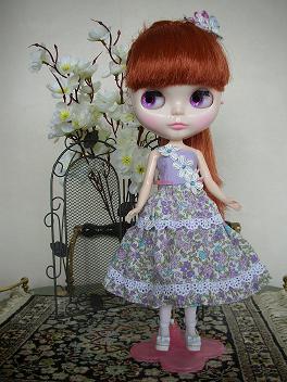 Bバニーさん紫2