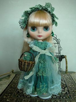 アリッサグリーンドレス4