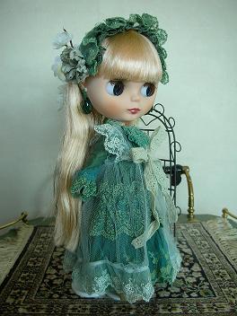 アリッサグリーンドレス5
