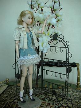 Ambivalent Girl ブルーワンピAF2