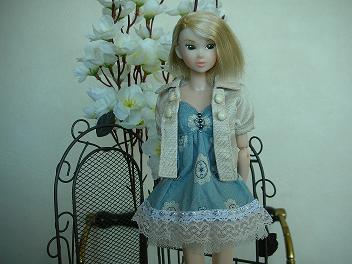Ambivalent Girl ブルーワンピAF4