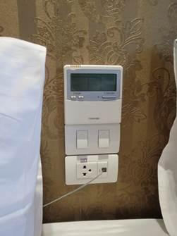 ハノイ デマントイドホテル デラックスルーム4