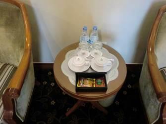 ハノイ デマントイドホテル デラックス リビングスペース ティーセット