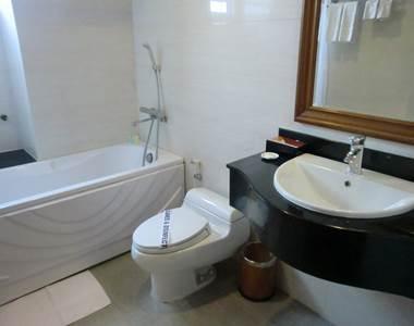 ハノイ デマントイドホテル デラックス バスルーム