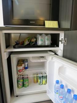 アジアン スタンダードルーム 冷蔵庫