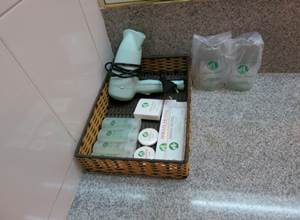 アジアンホテル バスルーム アメニティ