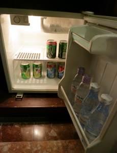 ハノイ フォーチュナホテル デラックス 冷蔵庫