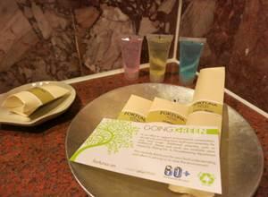 ハノイ フォーチュナホテル デラックス バスルーム 洗面台 アメニティ