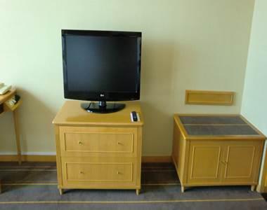 テレビとトランクスペース