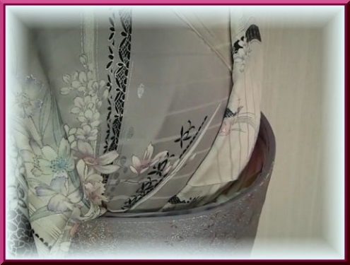 帯枕のガーゼ&三重紐の整え方