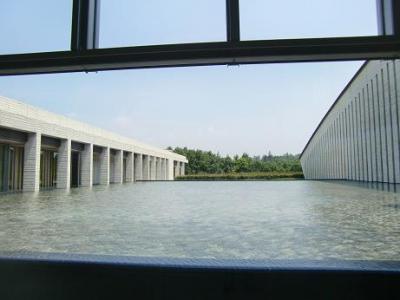 美術館の池1