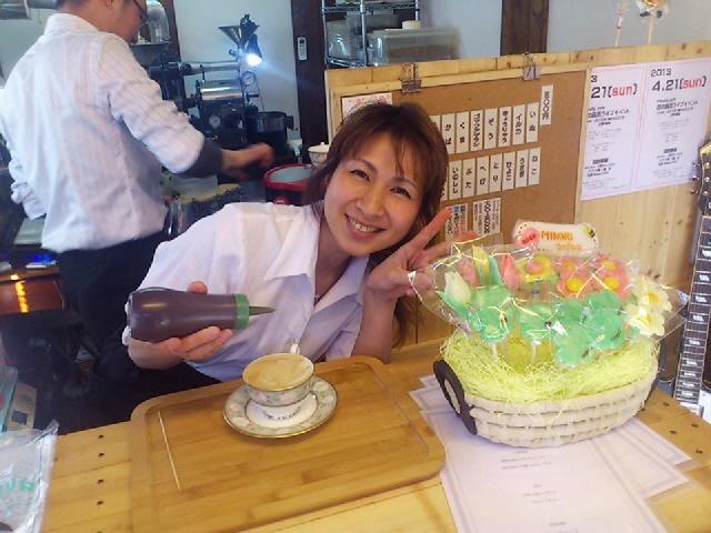 MINORI cafe in 豆匠 SYRUP ~甘くて甘い飴な恋2013~