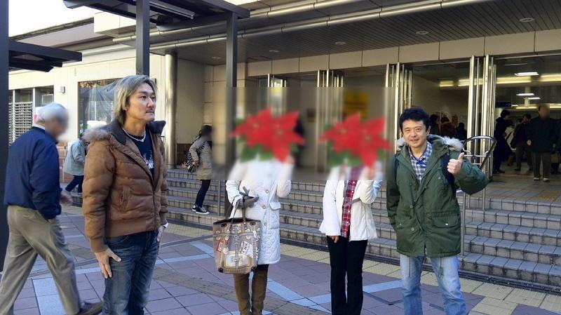 2013.12.14 六甲道~新開地の商店街巡り♪ターザン山下、美人ランナーズ、冨月のアンガールズ、マールな~か♪♪