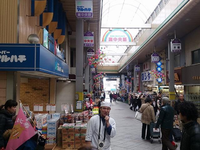 水道筋商店街『昭和40年代の混雑っつぷりを体感する商店主リレーツアー』完結編!