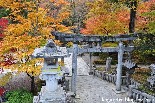 古峯神社の紅葉4