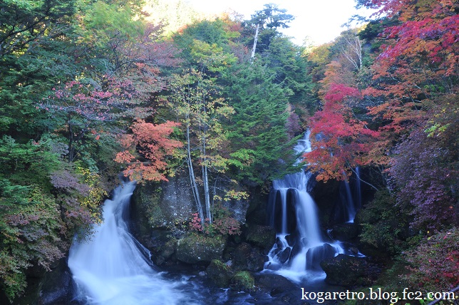 竜頭ノ滝の紅葉2