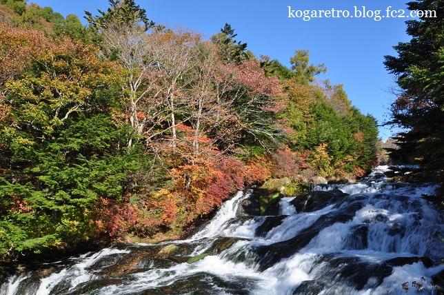 竜頭ノ滝の紅葉4