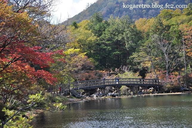 湯ノ湖の紅葉3