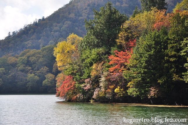 湯ノ湖の紅葉5