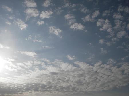 6月7日のウロコ雲