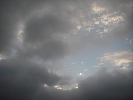 10月1日の雲