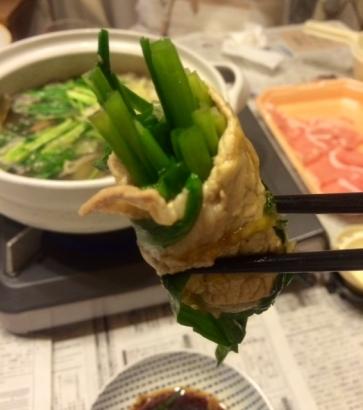 ニラ巻き鍋3