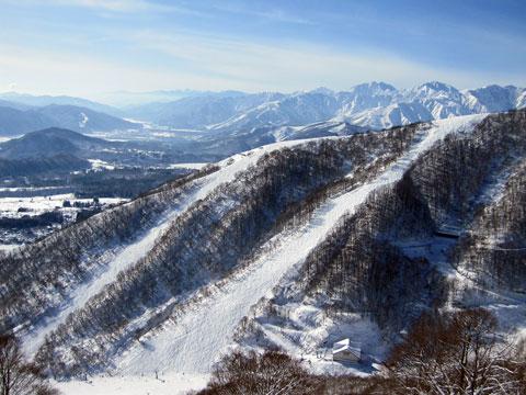 稗田山コースと白馬八方尾根