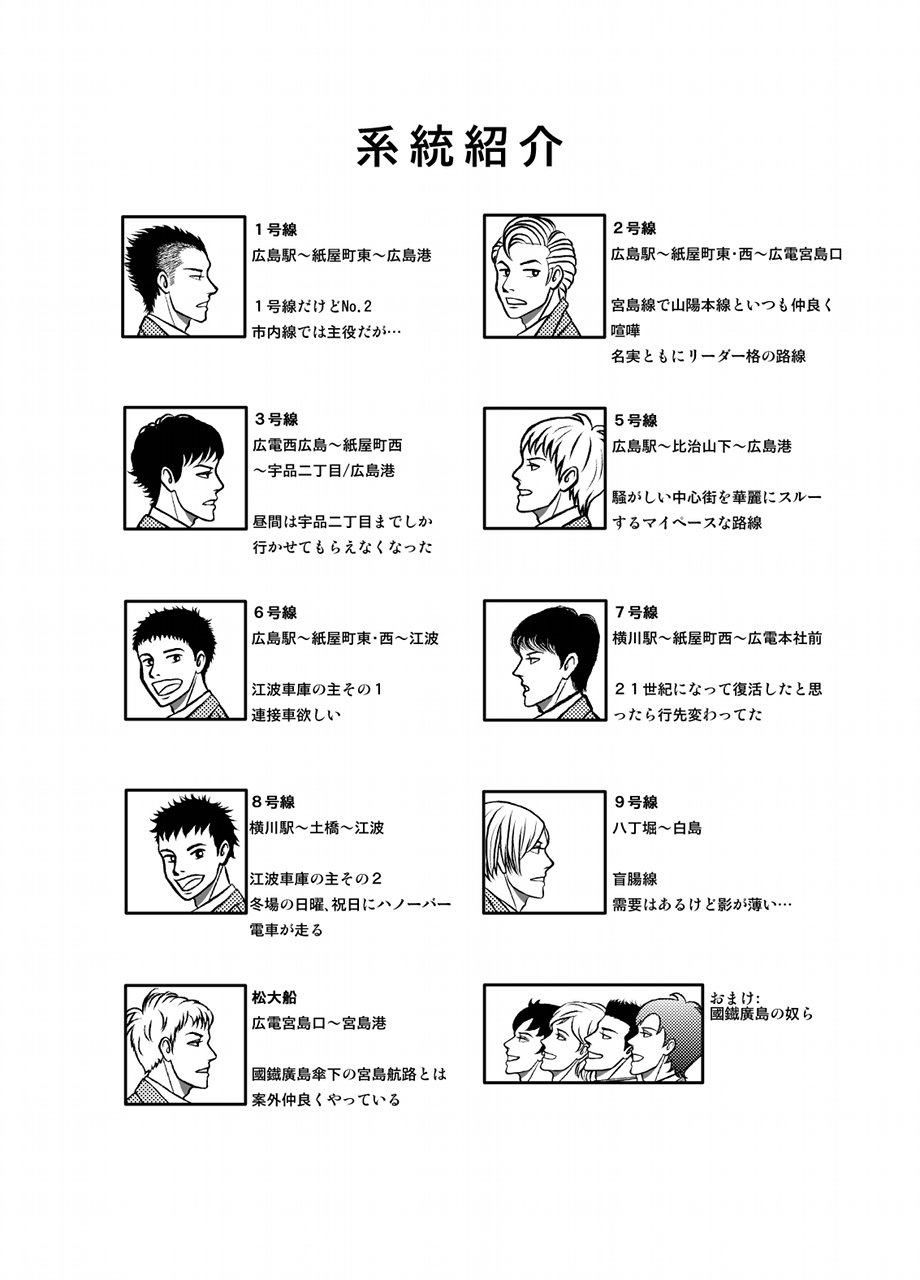 広島電鉄ファン路線紹介