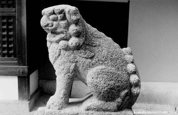 中臣須牟地神社(大阪市東住吉区住道矢田)1