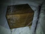 浄化槽のブロアー用の木箱