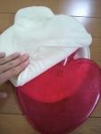 ハート型湯たんぽ3