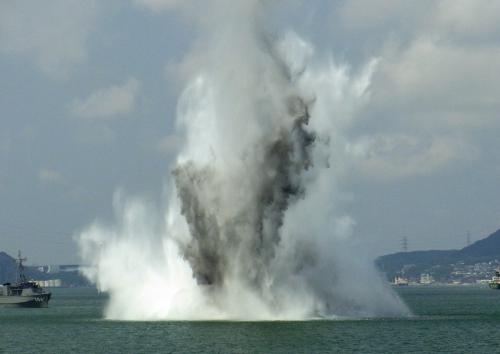 関門海峡の機雷処理1