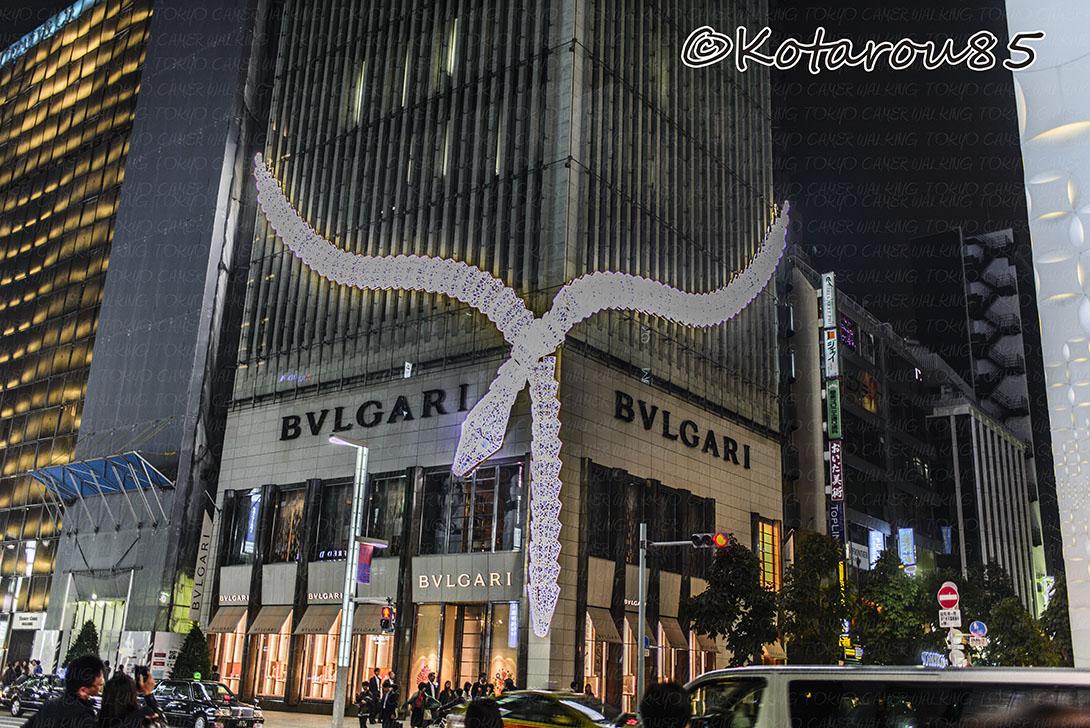 銀座のBVLGARI 20141102