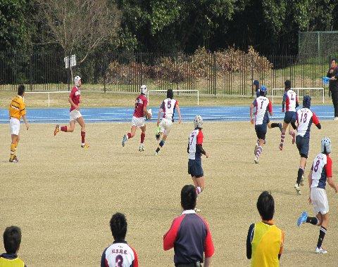 中学生の試合