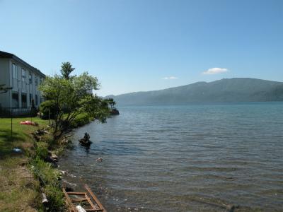 夏本番の屈斜路湖