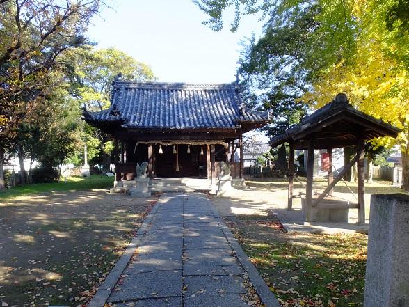 勝松神社 遠景
