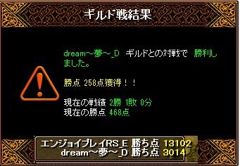 12月12日 エンジョイGv VS dream~夢~_D様