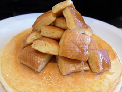 豆乳パンケーキ はちみつ(はちみつバターアップ1)