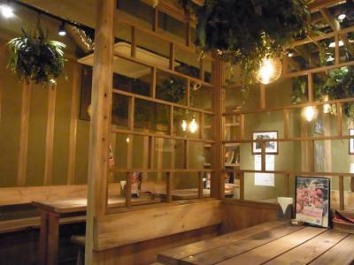 八百屋のキッチン(店内)