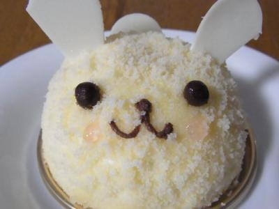 ラ・テール洋菓子店(ふんわりうさぎアップ)