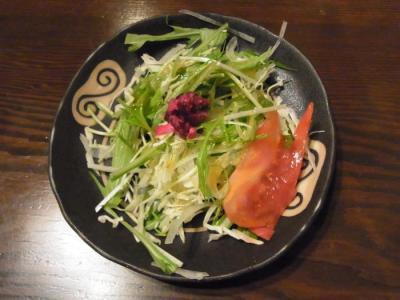 三茶カリー ZAZA(セットのサラダ)