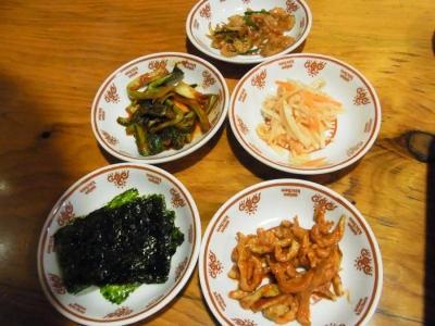 オムニ食堂(セットの小皿)
