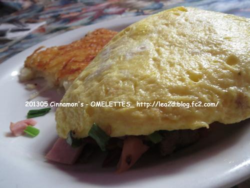 2013年5月 Cinnamon's Restaurant - OMELETTES